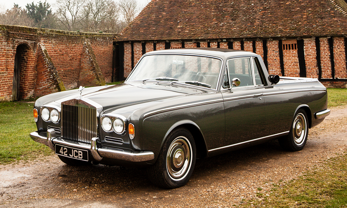 1967 Rolls Royce Silver Shadow Pickup Restoration by Clark ...